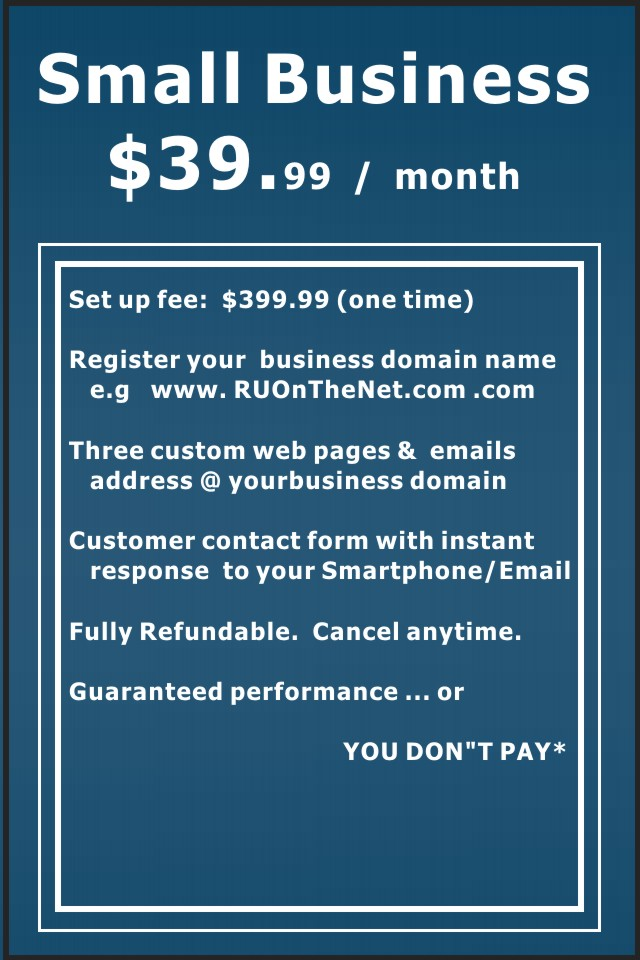 Small Business Online Websites